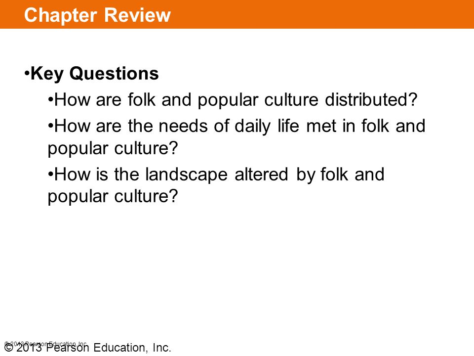 Chapter Review Key Questions
