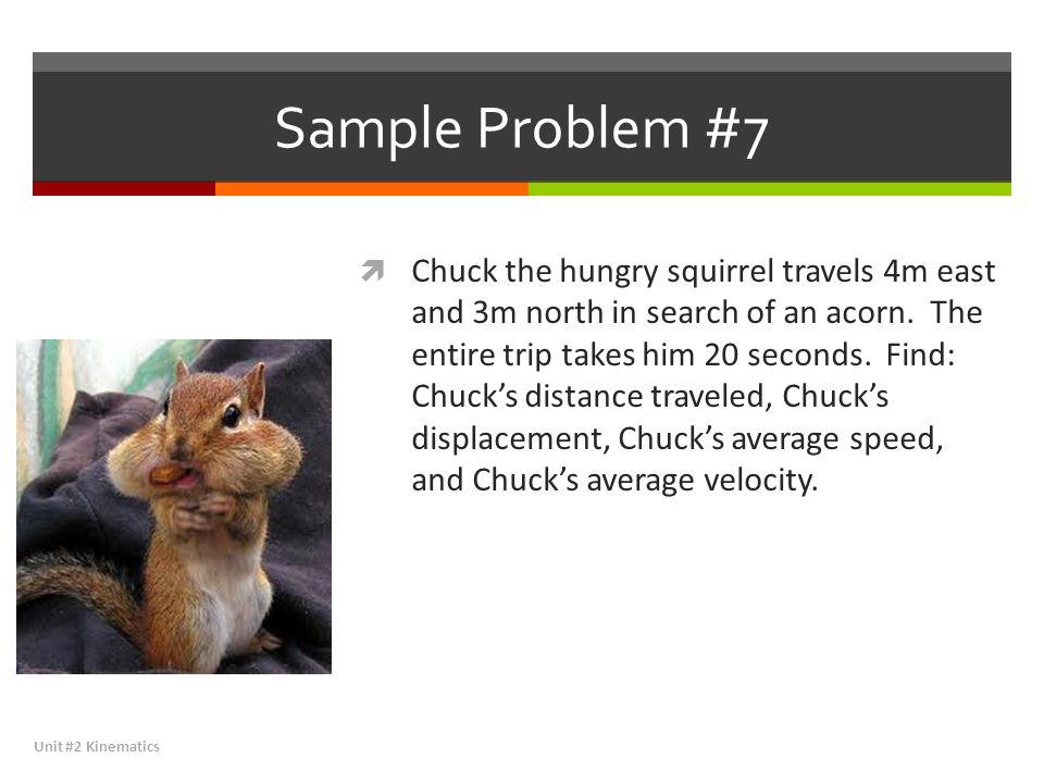 Sample Problem #7
