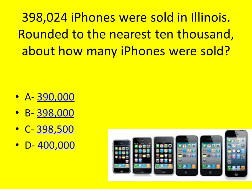 398,024 iPhones were sold in Illinois