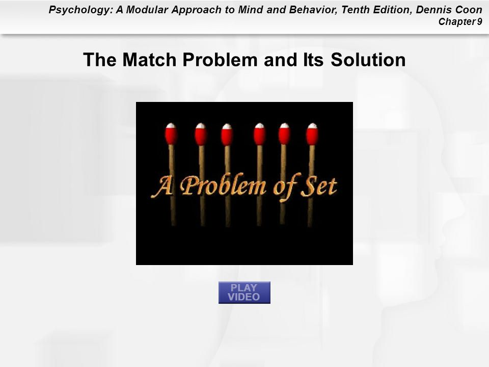 The Match Problem and Its Solution