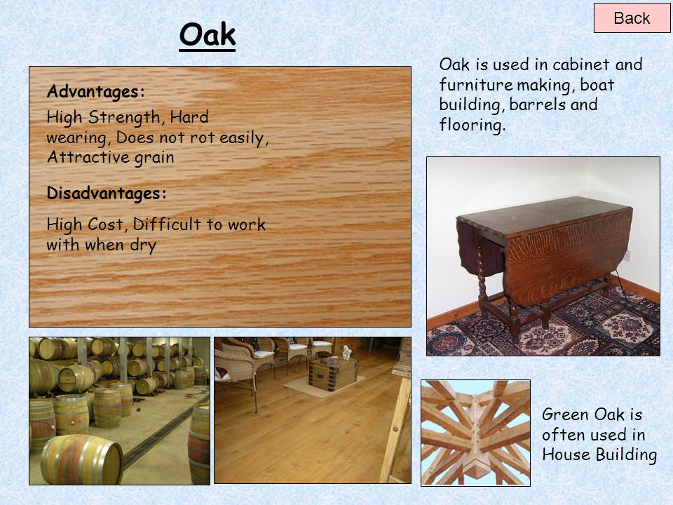 Using Oak Lumber For Furniture Making ~ Hardwoods softwoods beech oak ash mahogany teak walnut