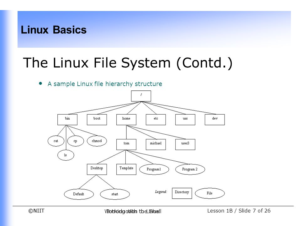 The Linux File System (Contd.)