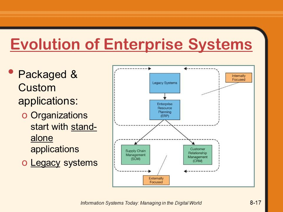 Evolution of Enterprise Systems
