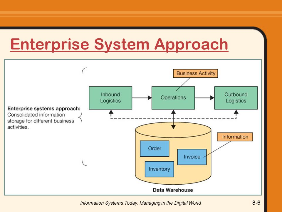 Enterprise System Approach