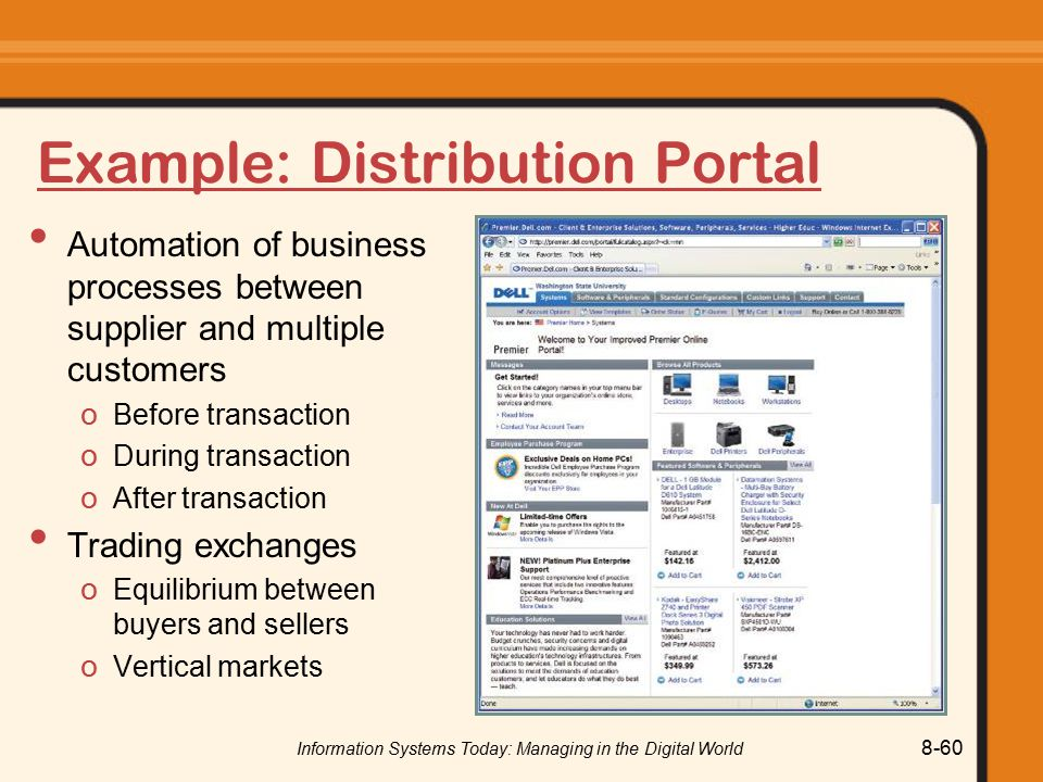 Example: Distribution Portal