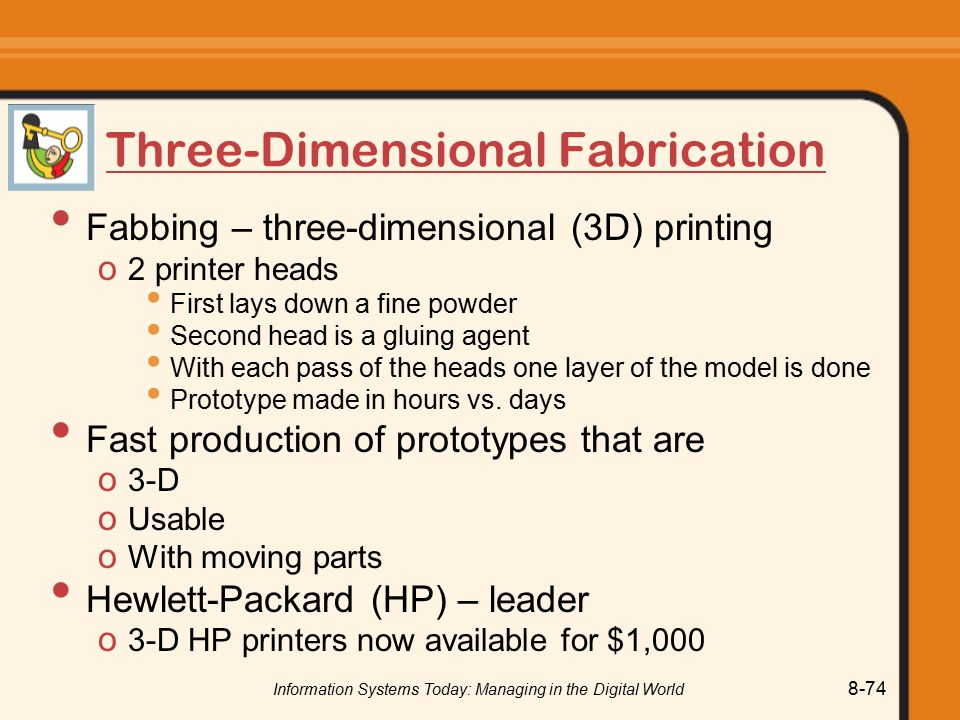 Three-Dimensional Fabrication