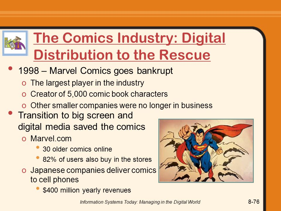 The Comics Industry: Digital Distribution to the Rescue