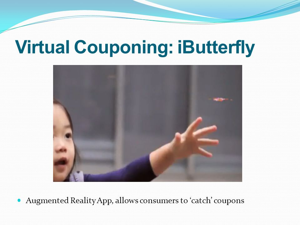 Virtual Couponing: iButterfly