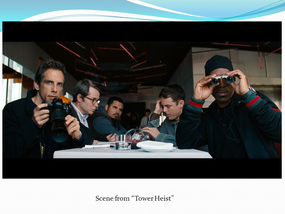 Scene from Tower Heist
