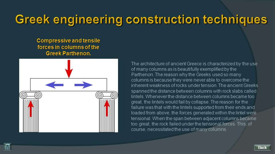 Greek engineering construction techniques