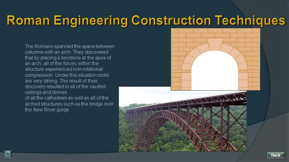 Roman Engineering Construction Techniques
