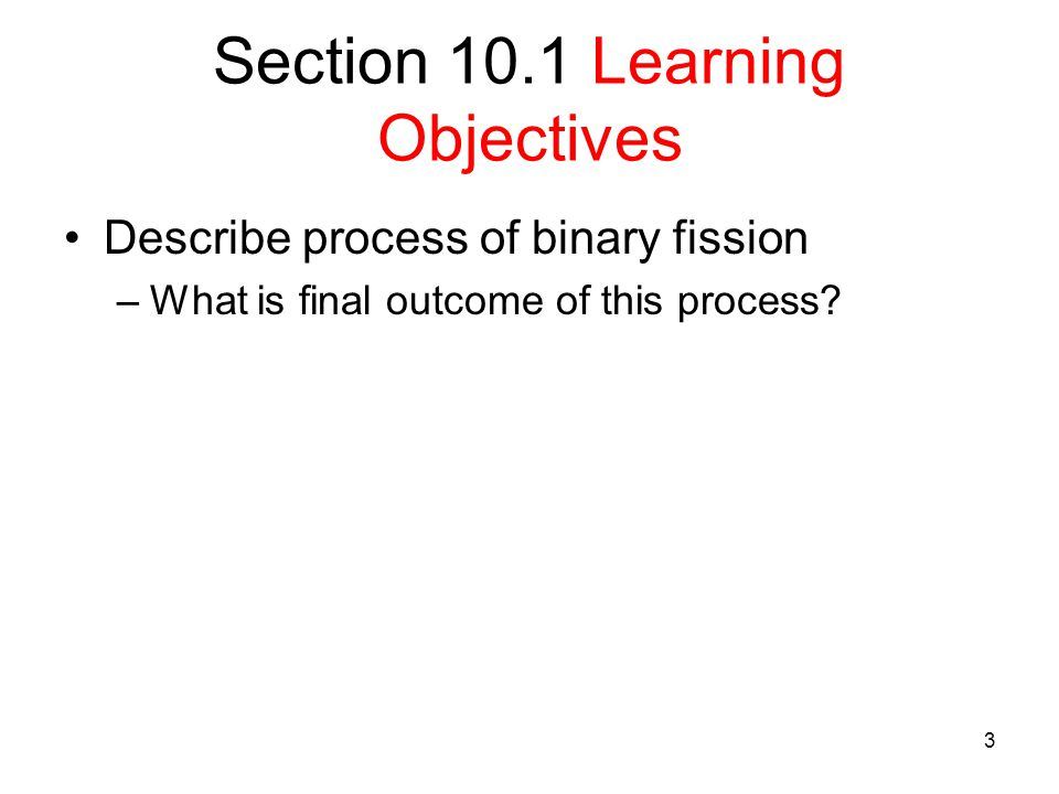Section 10.1 Learning Objectives