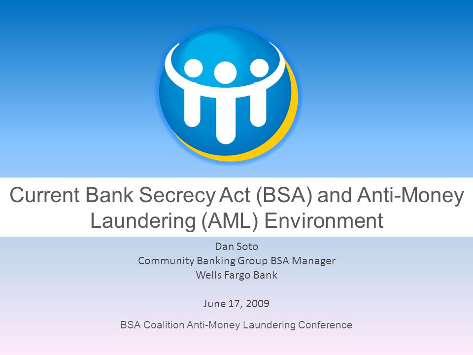 Community Banking Group BSA Manager