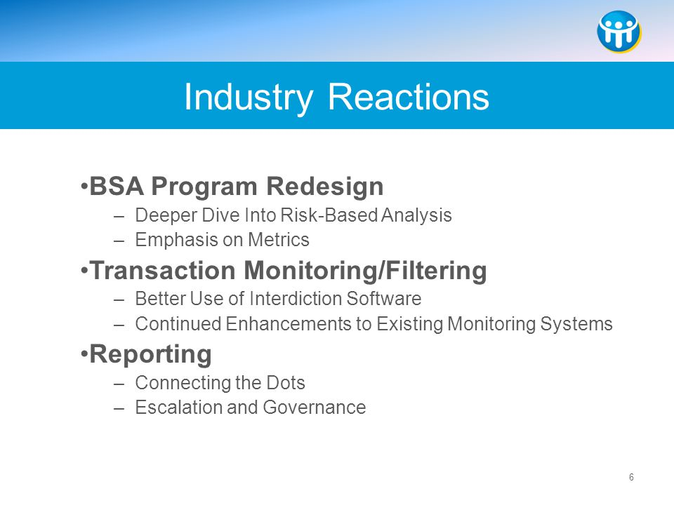 Industry Reactions BSA Program Redesign