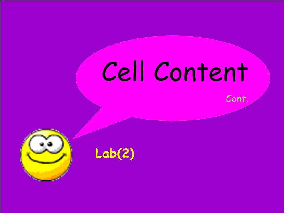 Cell Content Cont. Lab(2)