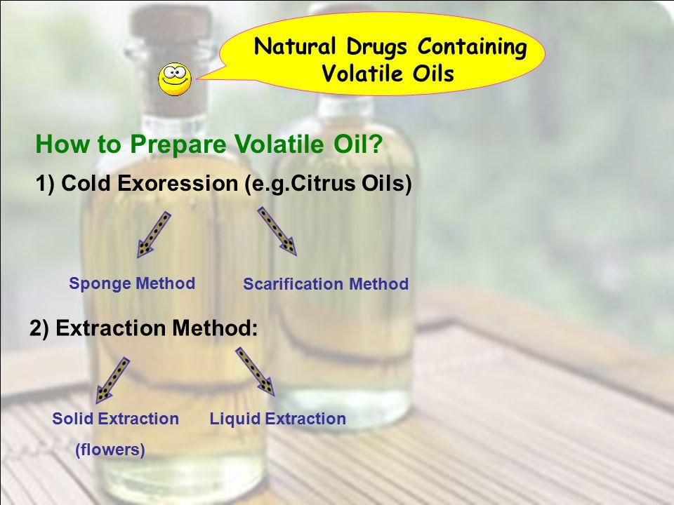 How to Prepare Volatile Oil