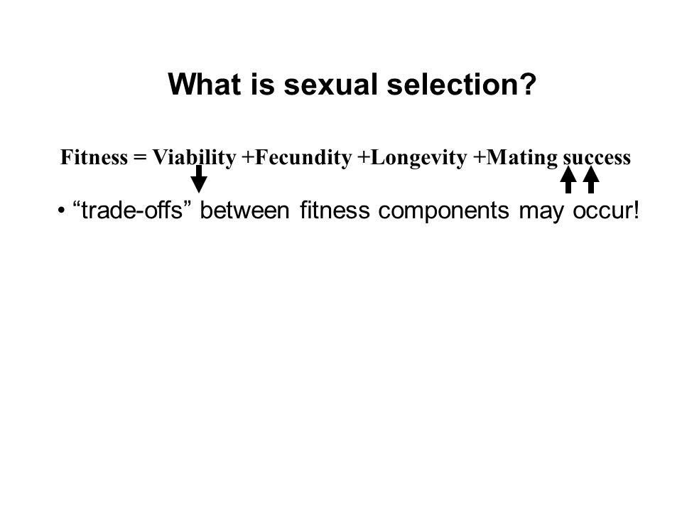 What is sexual selection
