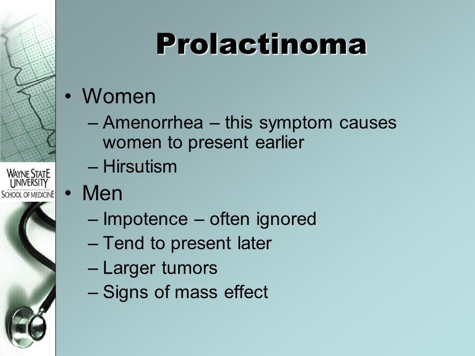 Prolactinoma Women Men