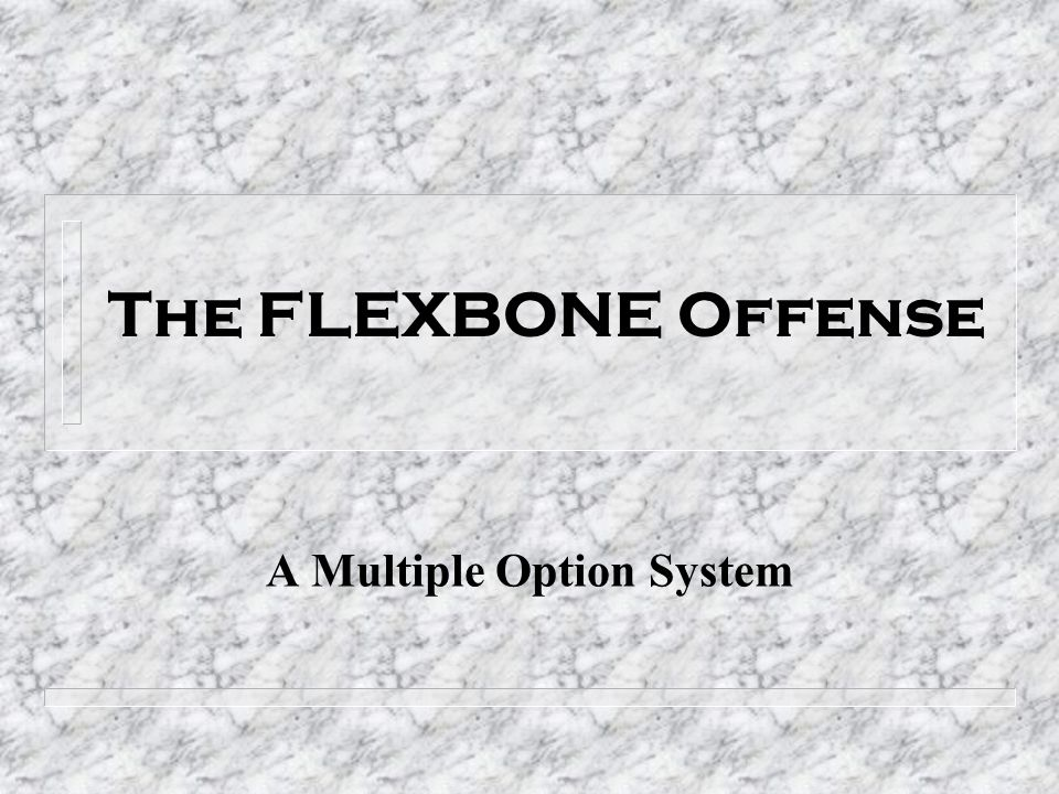 A Multiple Option System