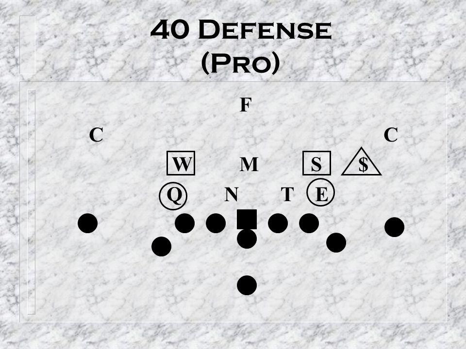 40 Defense (Pro) F. C C. W M S $