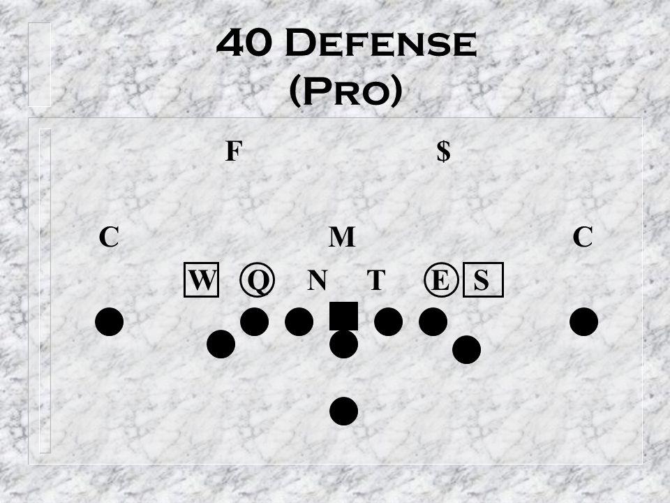 40 Defense (Pro) F $ C M C.