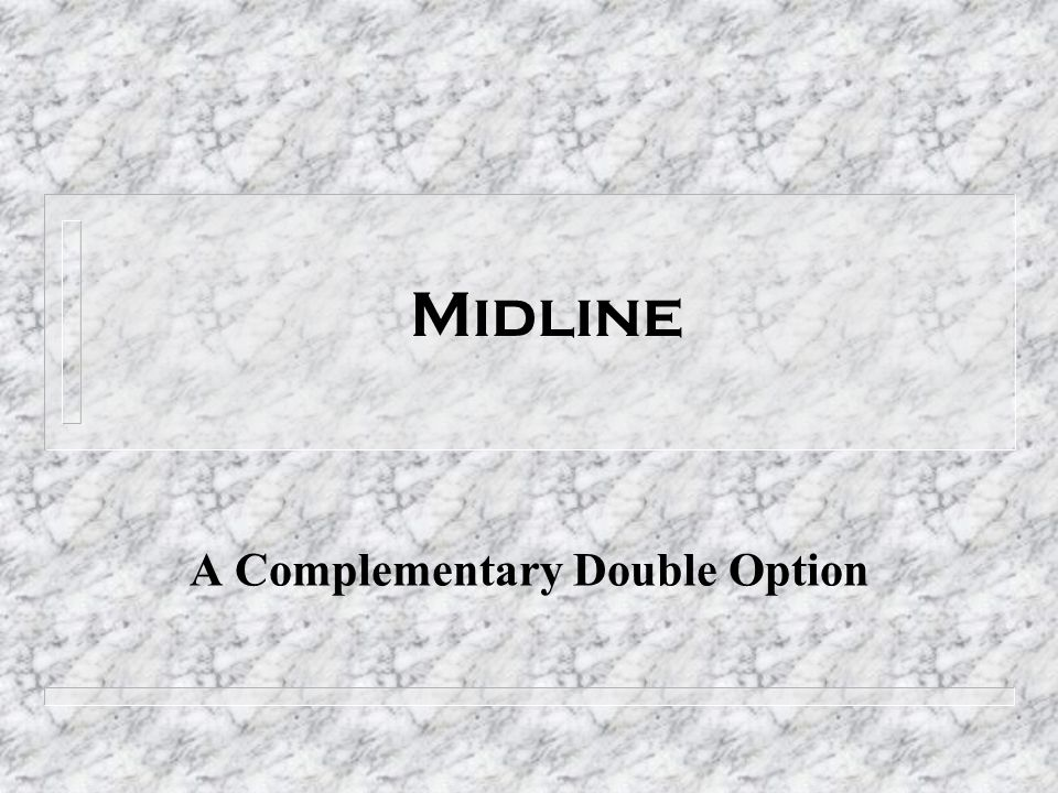 A Complementary Double Option