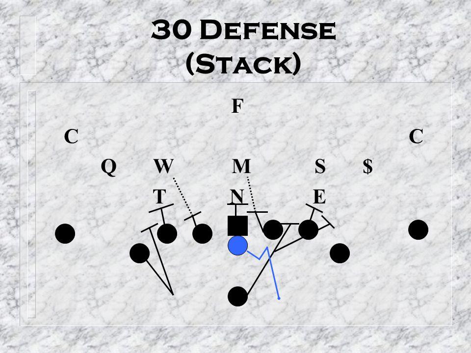 30 Defense (Stack) F. C C. Q W M S $