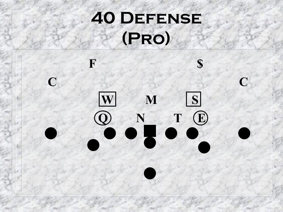 40 Defense (Pro) F $ C C.