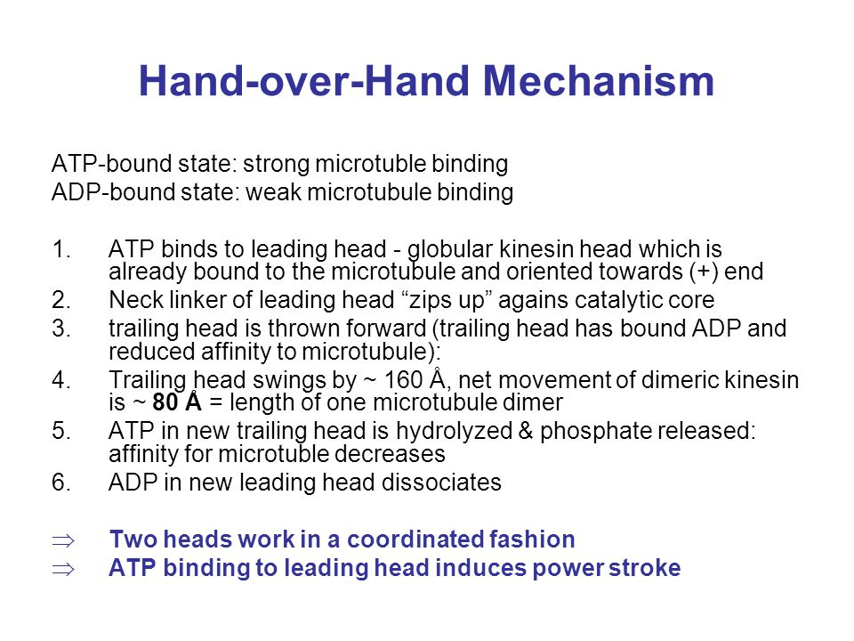 Hand-over-Hand Mechanism