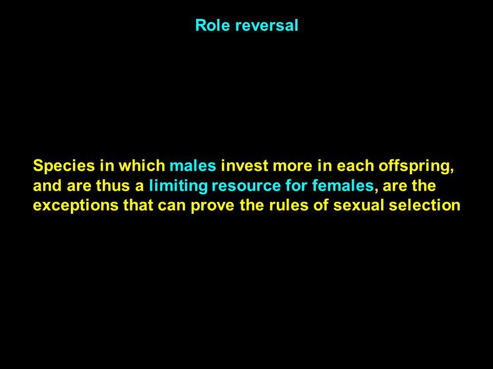 Role reversal