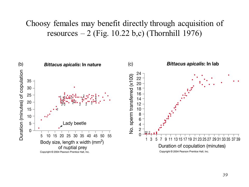 Choosy females may benefit directly through acquisition of resources – 2 (Fig.
