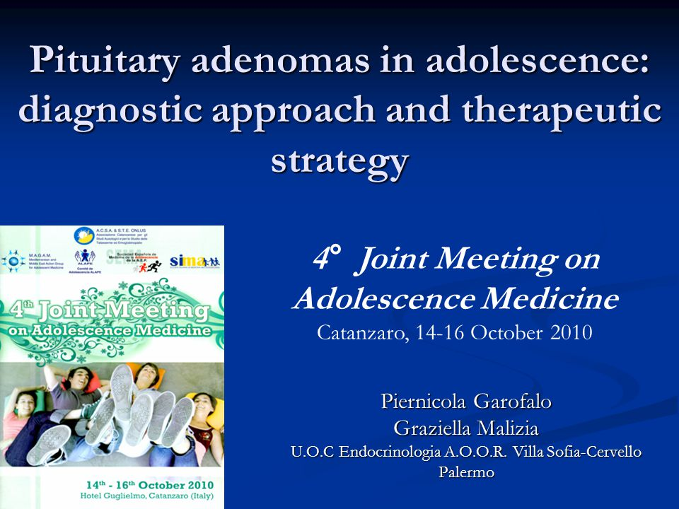 4° Joint Meeting on Adolescence Medicine