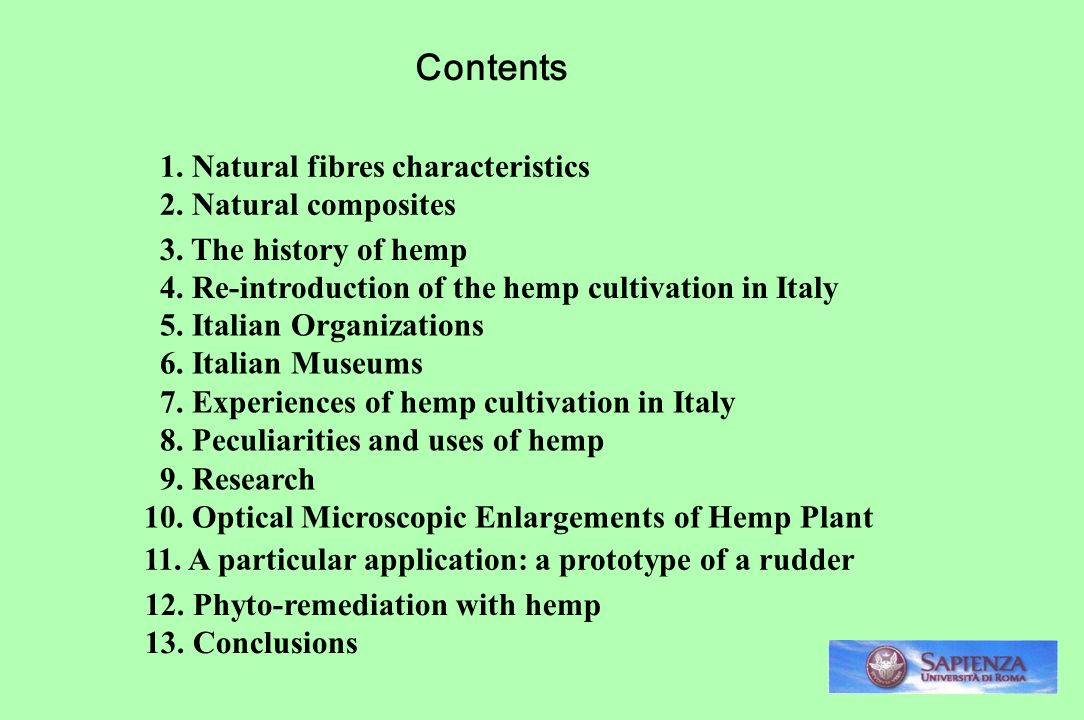 Contents 1. Natural fibres characteristics 2. Natural composites