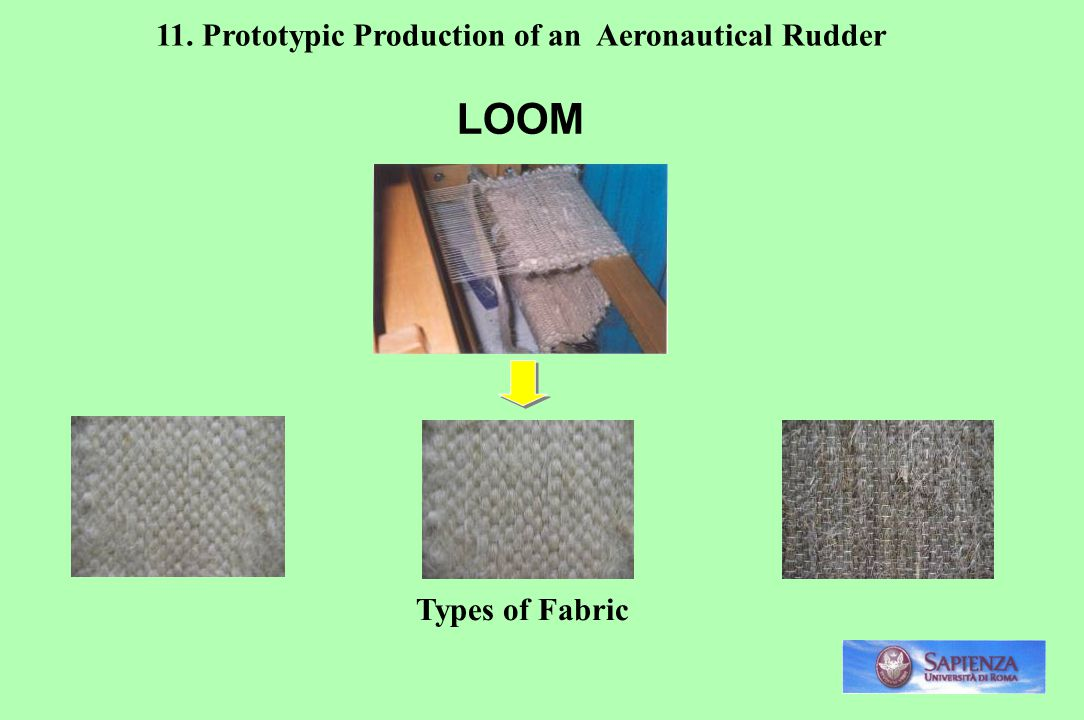 LOOM 11. Prototypic Production of an Aeronautical Rudder