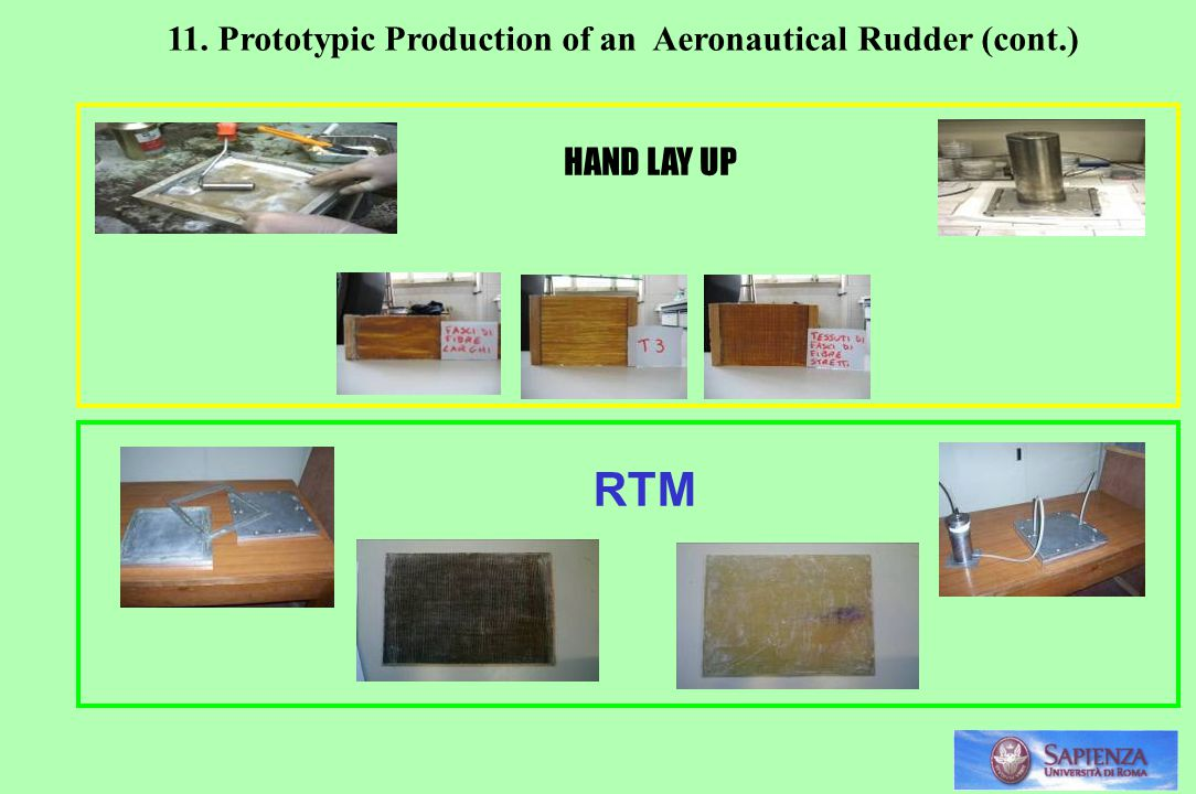 RTM 11. Prototypic Production of an Aeronautical Rudder (cont.)