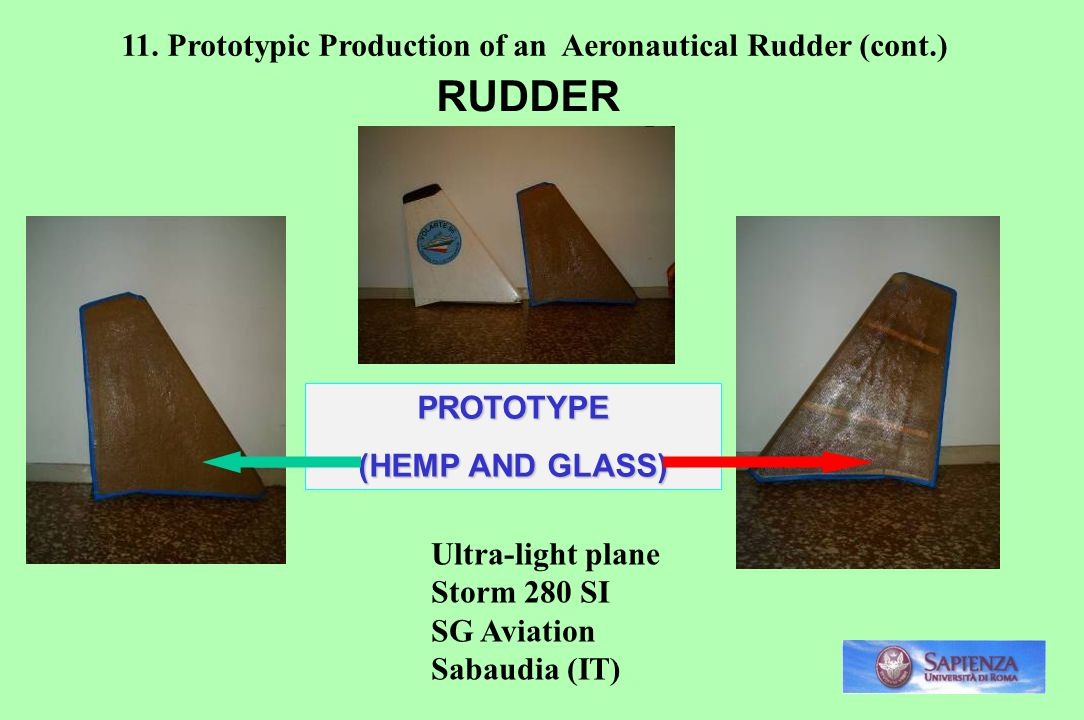 RUDDER 11. Prototypic Production of an Aeronautical Rudder (cont.)