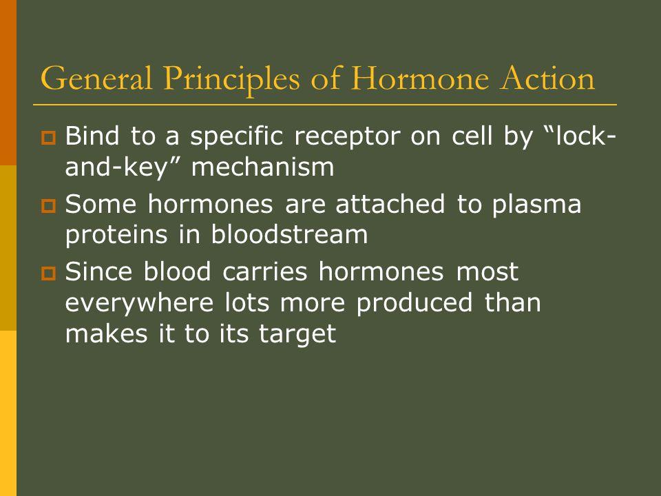 General Principles of Hormone Action