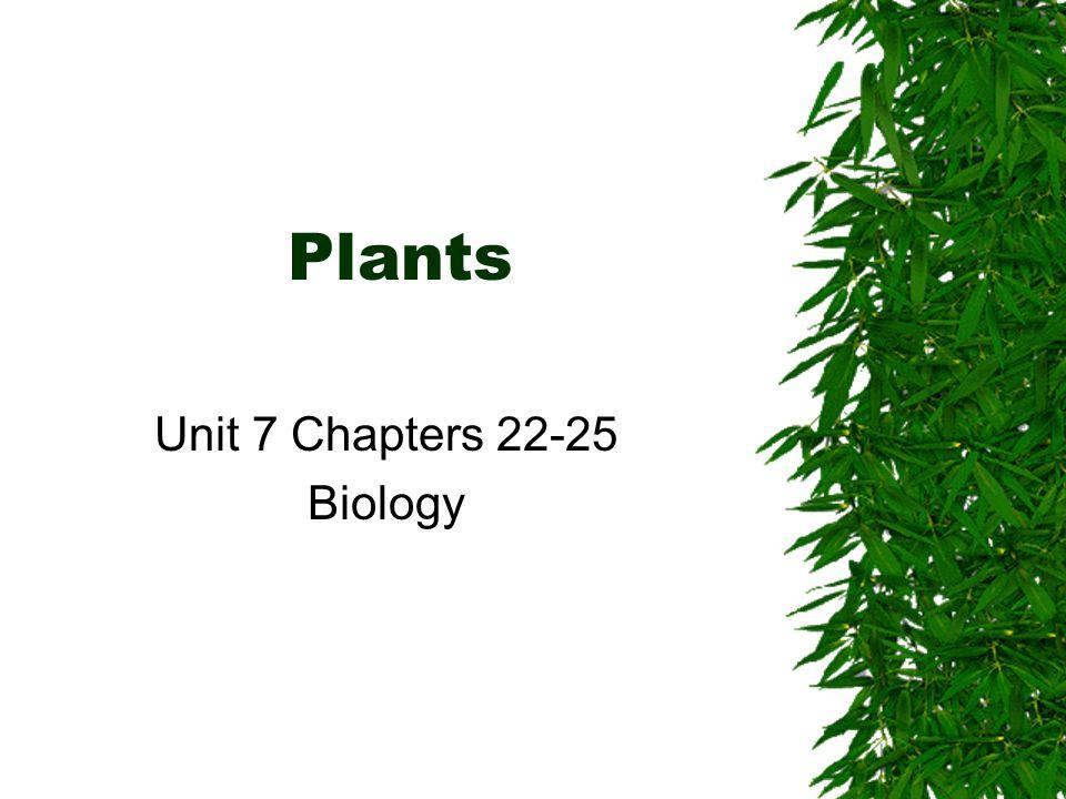 Unit 7 Chapters 22-25 Biology