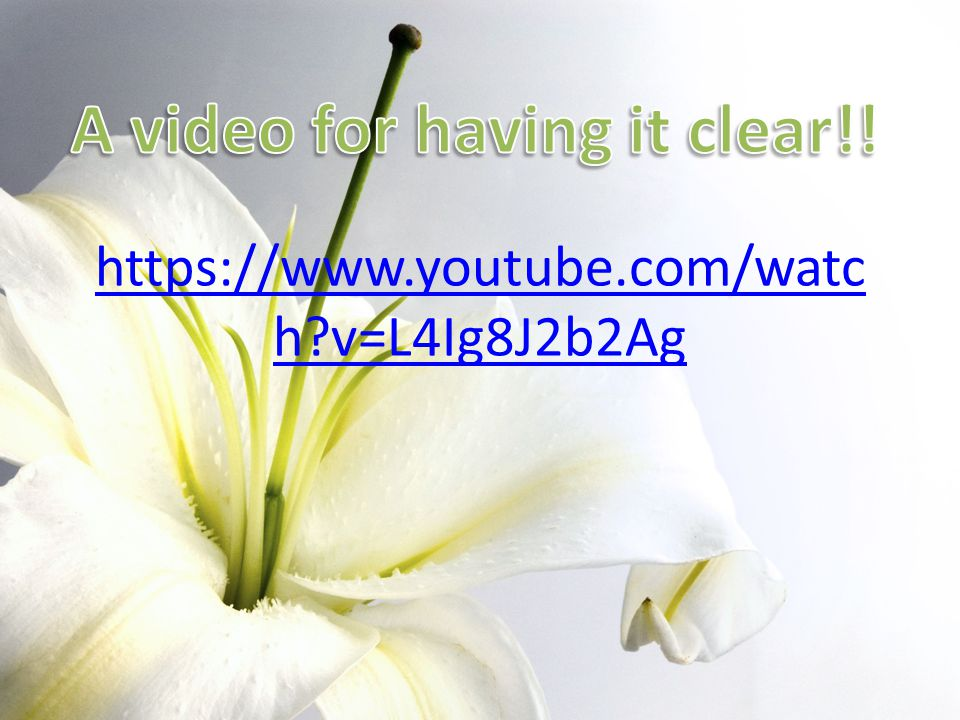 A video for having it clear!!