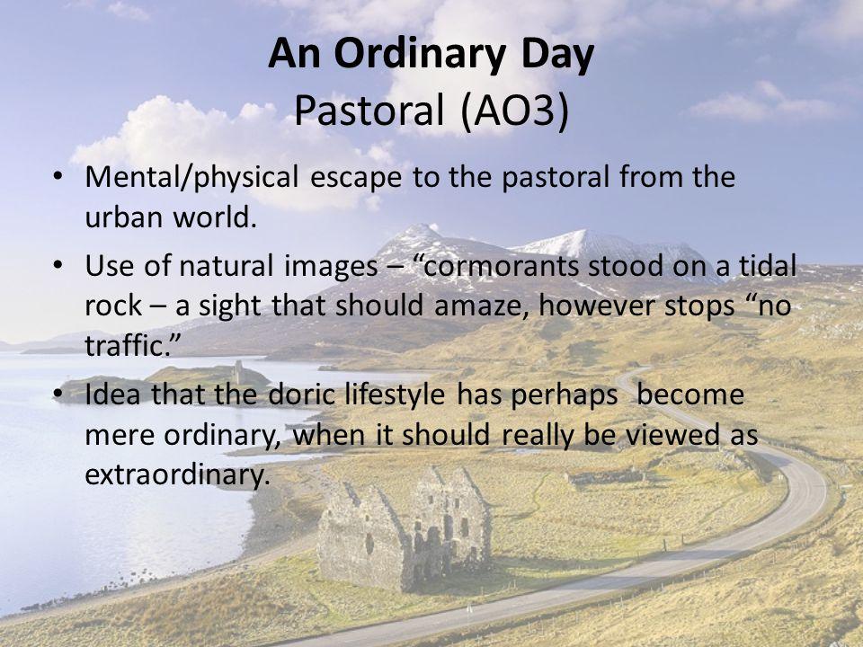 An Ordinary Day Pastoral (AO3)