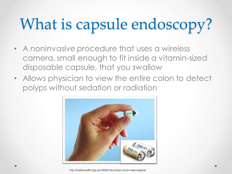 What is capsule endoscopy