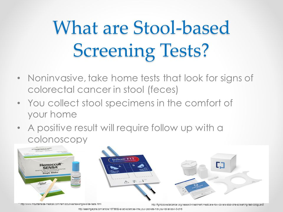 What are Stool-based Screening Tests
