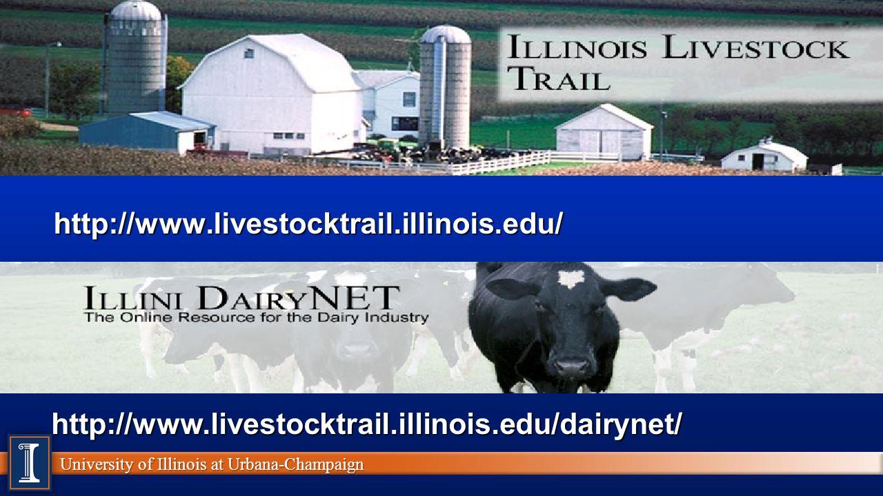 http://www.livestocktrail.illinois.edu/ http://www.livestocktrail.illinois.edu/dairynet/