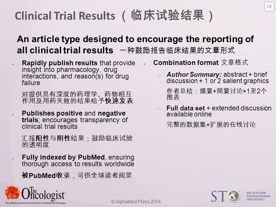 Clinical Trial Results (临床试验结果)