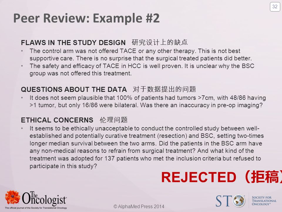 Peer Review: Example #2 REJECTED(拒稿)