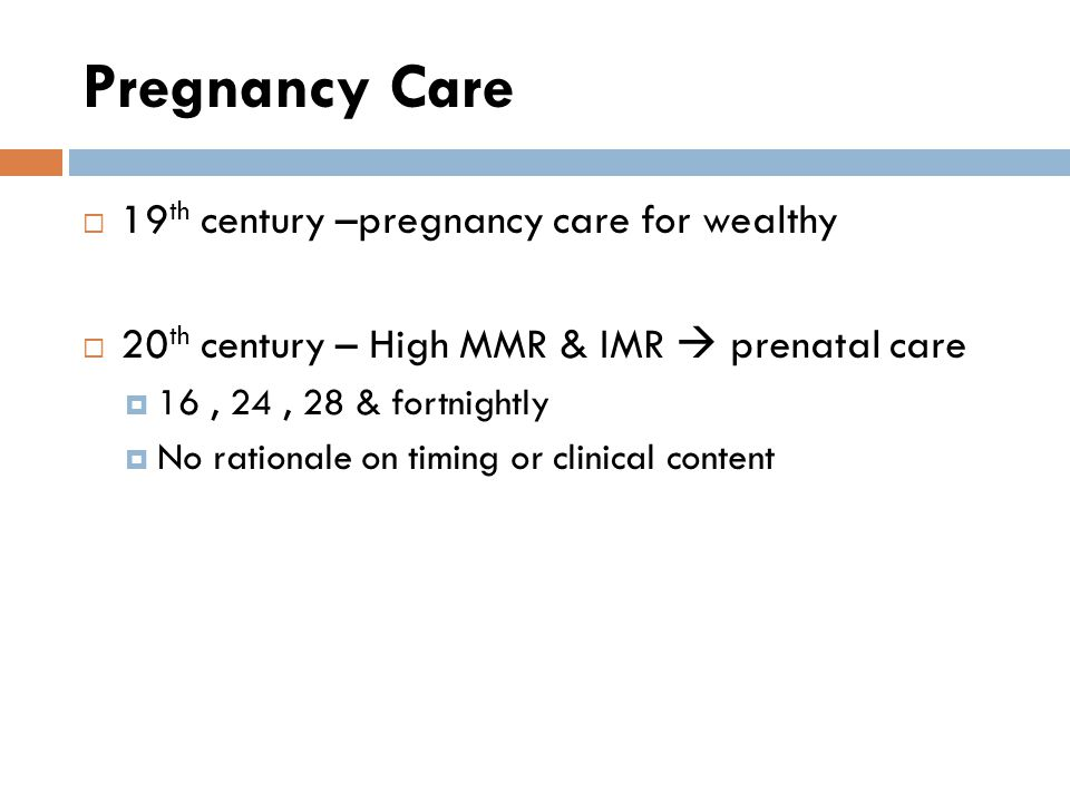 Pregnancy Care 19th century –pregnancy care for wealthy