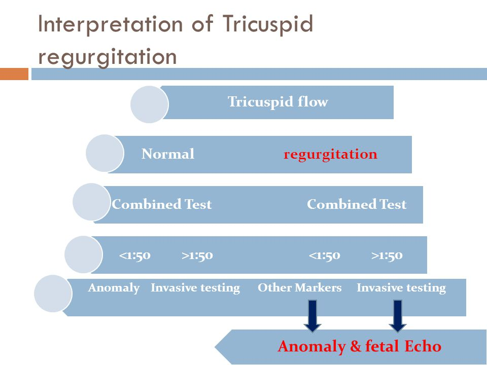 Interpretation of Tricuspid regurgitation