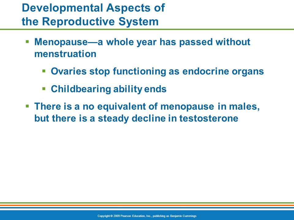 Developmental Aspects of the Reproductive System