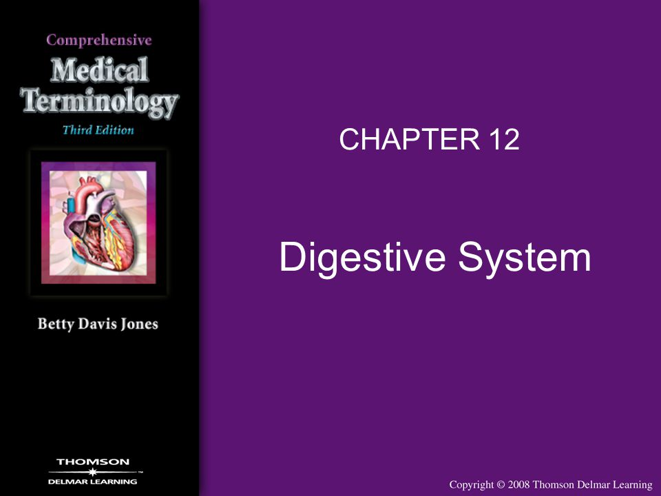 CHAPTER 12 Digestive System