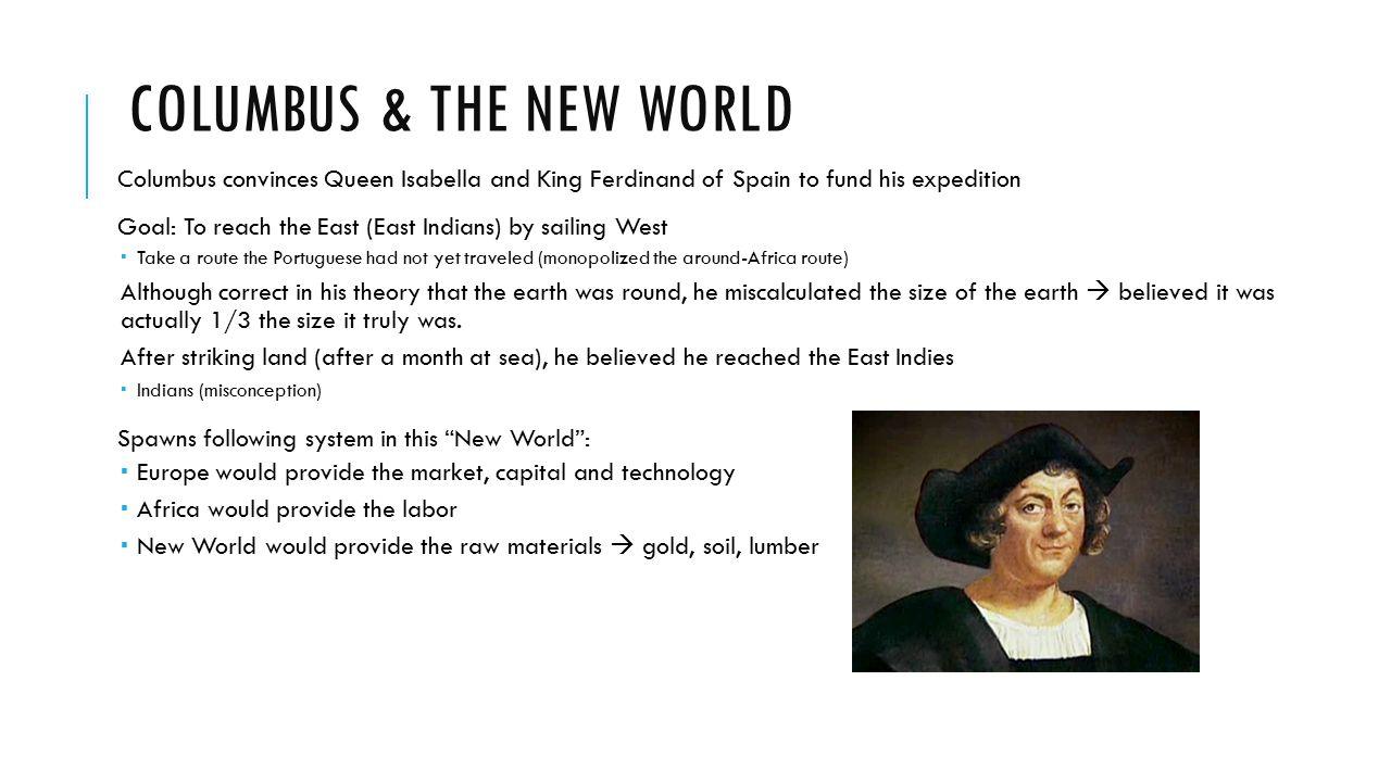 Columbus & the new world